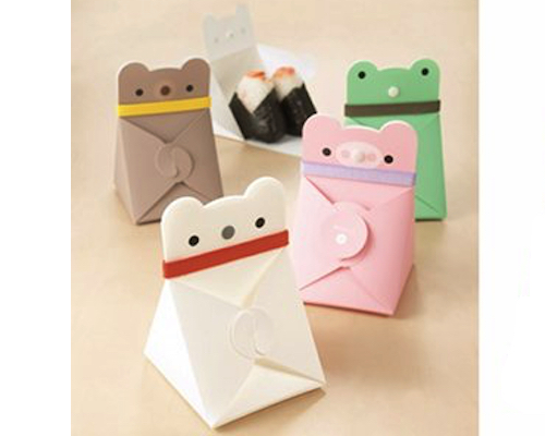 Flat Case Onigiri Animals