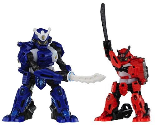 Samurai Borg Robot Warriors Set