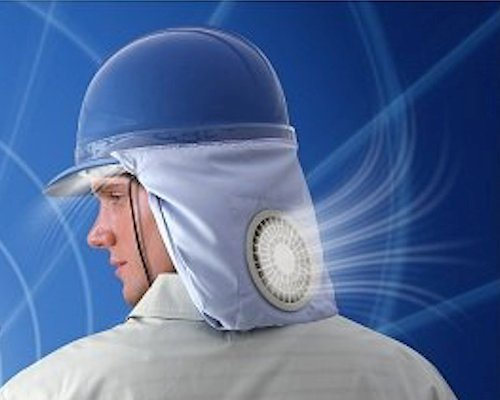 Kuchofuku Air-Conditioned Helmet