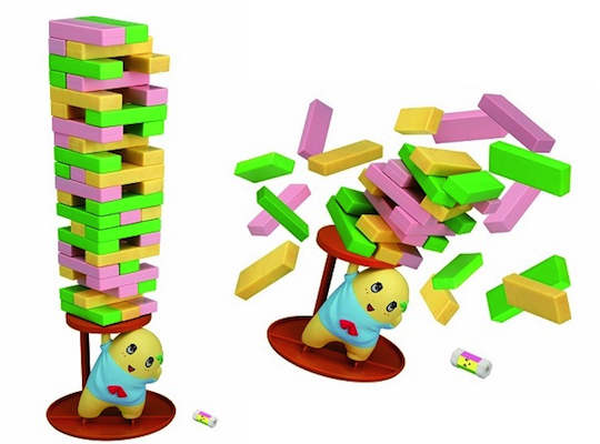 Posing Funassyi Unbalance Tower Game