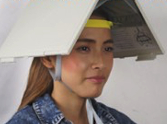 A4 Shelter Folder Safety Helmet