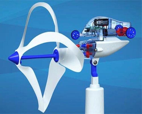 Loop Wing wind power generator and car