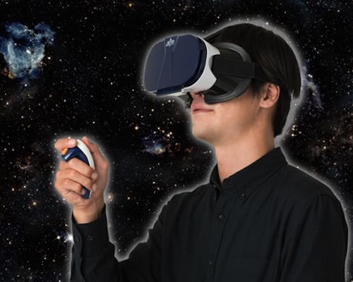 Joy VR Space Exploration Virtual Reality Headset