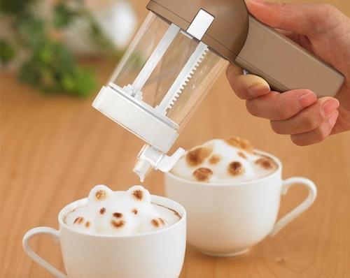 Japan trend shop 3d latte art maker awa taccino for 3d art maker online