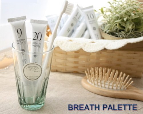Breath Palette flavored toothpastes