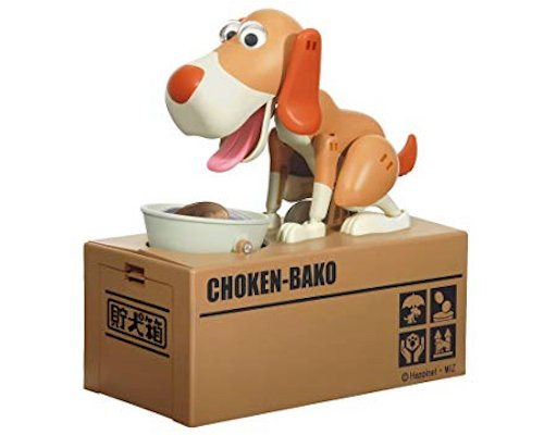 Choken Bako Robotic Dog Bank
