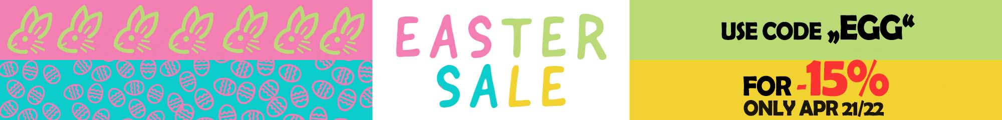 Happy Easter Sale 2019
