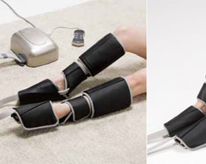 Air Foot Pro leg massager from France Bed