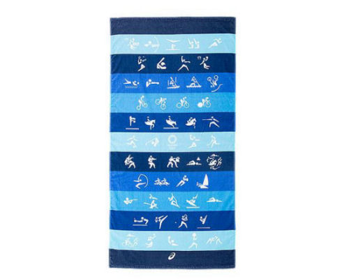 Tokyo 2020 Olympics Asics Bath Towel Official Pictograms