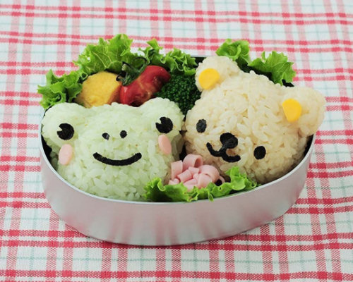 Bear and Friends Bento Lunchbox Art Set