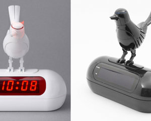 Japan Trend Shop Led Bird Alarm Clock