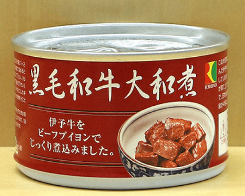 Canned Kuroge Wagyu Japanese Beef in Soy Sauce