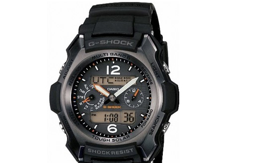 CASIO G-Shock Tough Solar Radio Watch