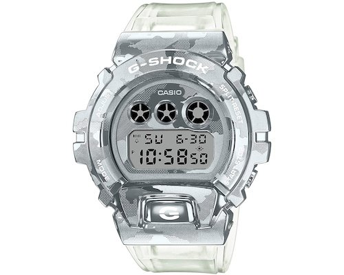 Casio G-Shock GM-6900SCM-1JF Skeleton Camouflage Watch