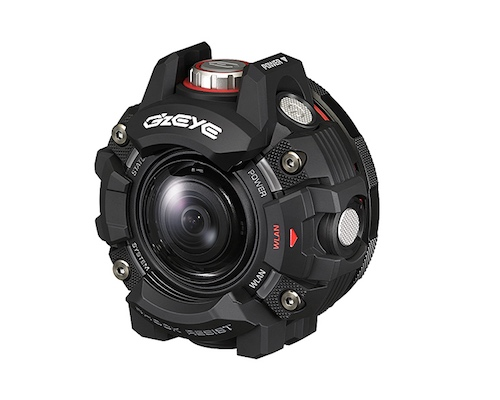 Casio G'z Eye GZE-1 Action Camera
