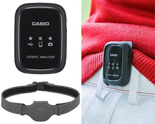 Casio Hip Speeder Wearable Swing Sensor for Golfers