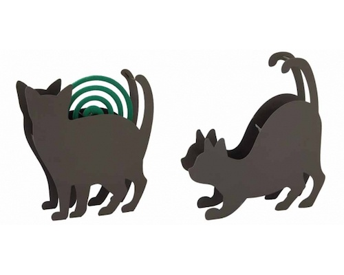 Cat Mosquito Coil Holder Stand