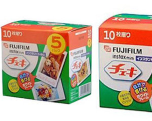 Extra Film for Instax Mini 7S and Mini50s Cheki Camera