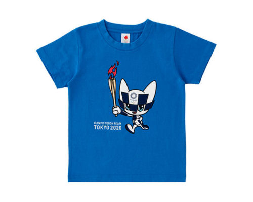 Tokyo 2020 Olympic Torch Relay Children's T-shirt