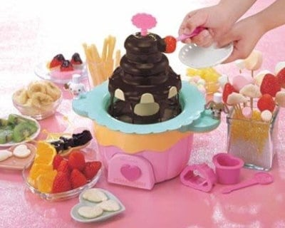 Choco Fountain Sugar Bunnies