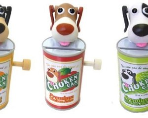 Choken Can Dog Coin Bank