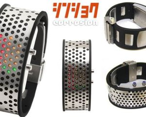 Corrosion LED watch