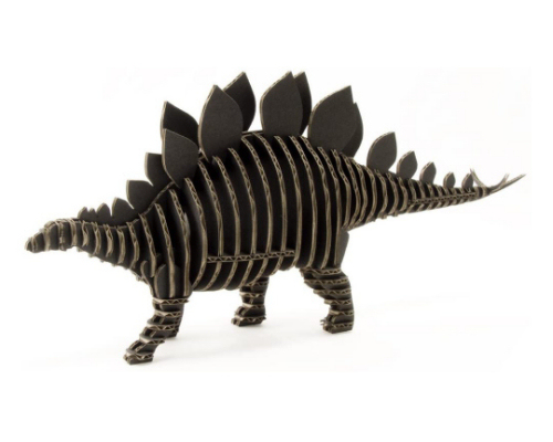 d-torso Stegosaurus Paper Craft Model