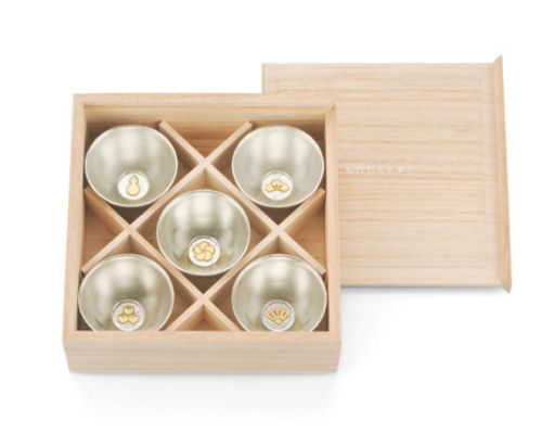 Deluxe Lucky Talisman Sake Cups Set