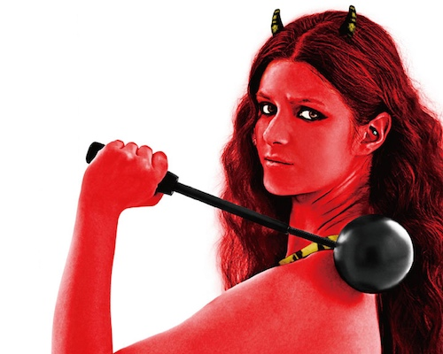 Demon Bride Ball Shoulder Massager