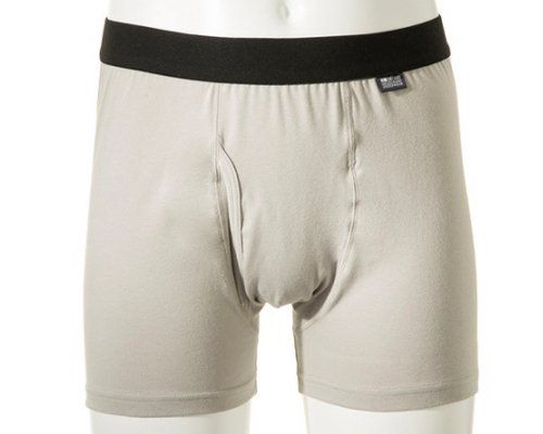 Deoest Deodorizing Boxer Briefs Gray