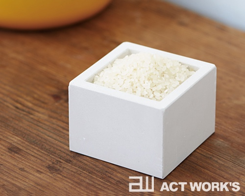 Diatomaceous Earth Masu Natural Humidity Control Rice Box