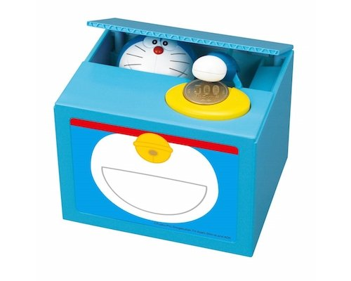 Doraemon Itazura Piggy Bank