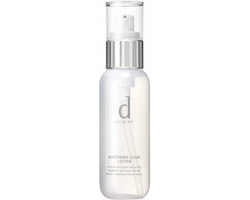 Shiseido d program Whitening Clear Lotion