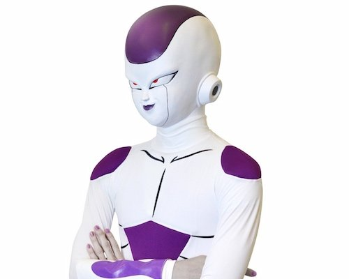Dragon Ball Z Frieza Mask & Costume