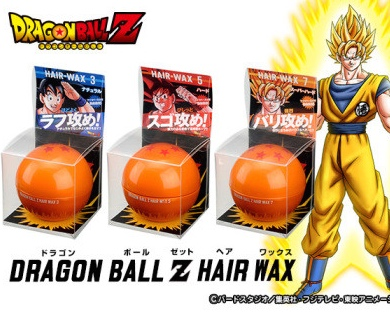 Dragon Ball Z Hair Wax