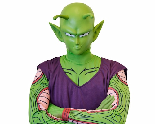 Dragon Ball Z Piccolo Mask & Costume