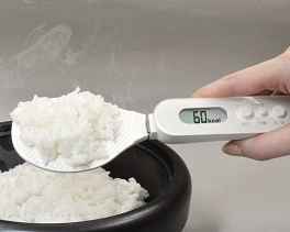 Digital Rice Paddle with Calories Calculator
