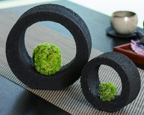 Eco Pochi Kokedama Moss Ball Ring