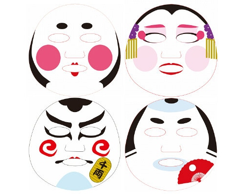Edo Art Face Pack Set