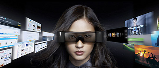 Epson Moverio BT-100 Videobrille