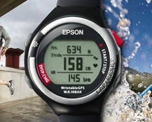 Epson SS-700S Wristable GPS Wrist Watch