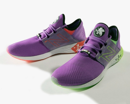 Evangelion New Balance Fresh Foam Cruz U Sneakers
