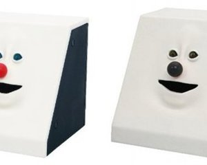 Face Bank Pierrot Piggy Bank