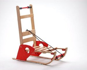 Foldable Wood Sled