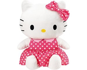 Friendly Hello Kitty Repeating Plush Doll