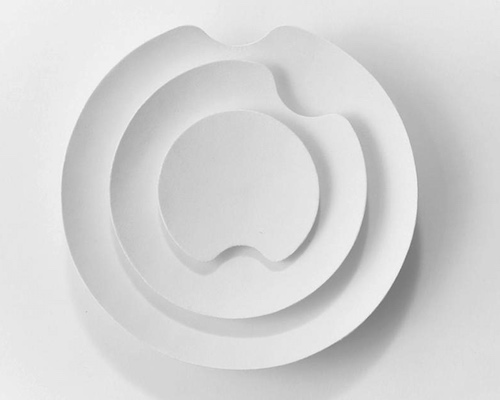 Fumon Inshu Washi Kinetic Wall Clock Sculpture