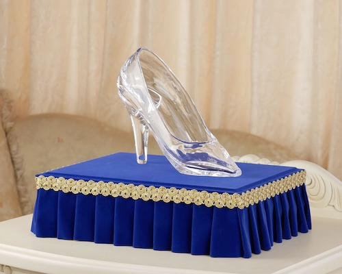 Emma Glass Slipper