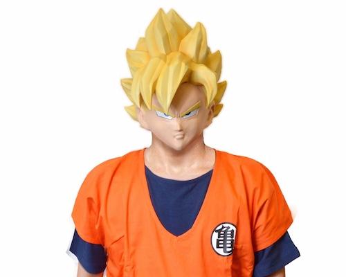 Japan Trend Shop Dragon Ball Z Goku Mask Amp Costume
