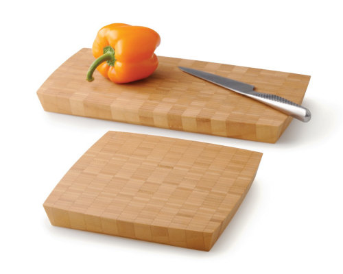 Grid Bamboo Cutting Board