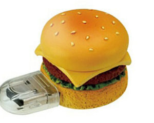 Hamburger 2GB USB Memory Stick